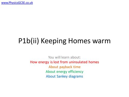 Sankey Diagrams and Energy Efficiency