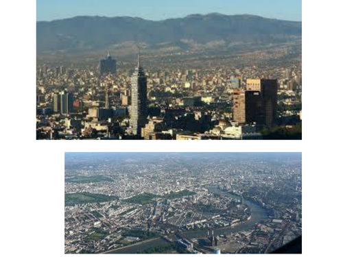 Differences between London and Mexico City