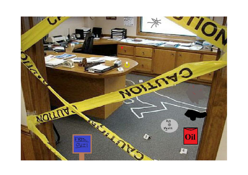 Whodunnit? Mystery Lesson