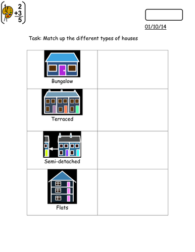 Cross Curricular - Housing