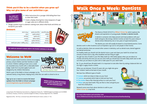 WoW Dentist activity guide