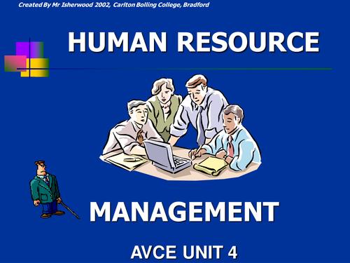Human Resource Management unit