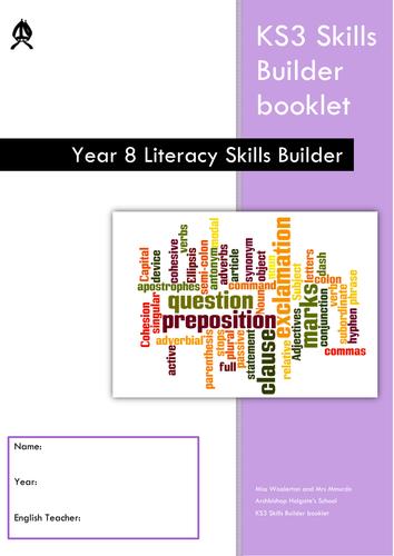 KS3 Literacy Skills Builder Booklets