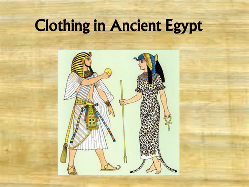 Worksheet Ancient Egyptian Homework Ks2 ancient egyptian clothing by s1005900 teaching resources tes
