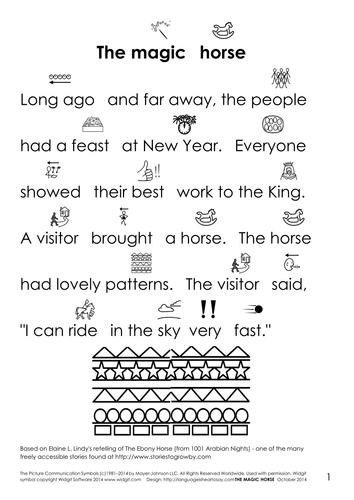 Traditional tale - The Magic Horse