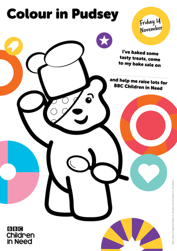 pudsey the chef by bbcchildreninneed teaching resources tes. Black Bedroom Furniture Sets. Home Design Ideas