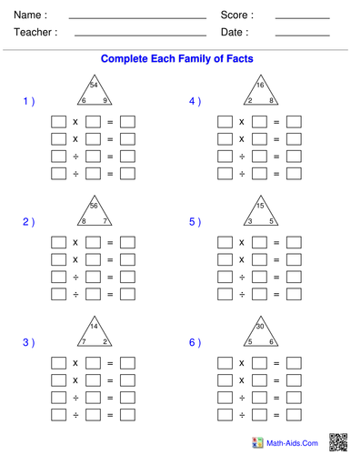 Pre School Worksheets : division chunking worksheets ks2 Division ...