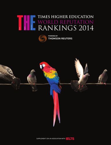 THE World Reputation Rankings supplement 2014