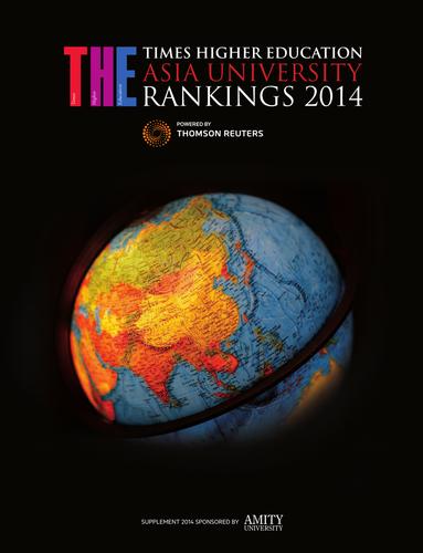 THE Asia University Rankings Supplement 2014