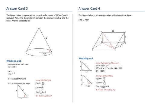 Get 21 - 3D Trigonometry