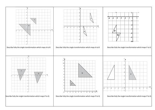 Describing Transformation Worksheets Worksheet Printable Blog – Transformation Worksheets