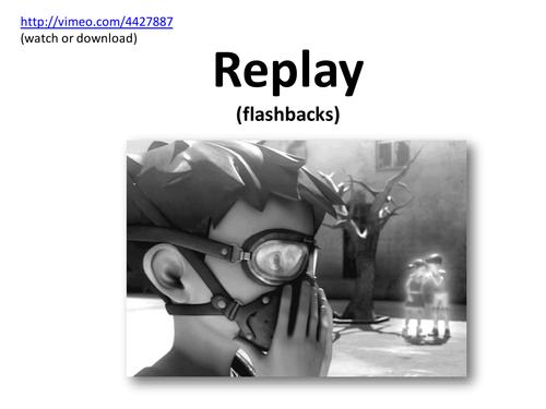 Narrative Flashbacks - Replay Animation