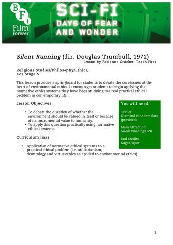 Silent Running RE KS5