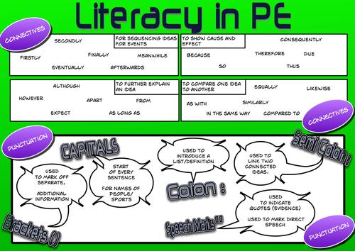 Literacy Mat for Pe