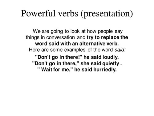 powerful essay verbs Synonyms for powerful at thesauruscom with free online thesaurus, antonyms, and definitions dictionary and word of the day.