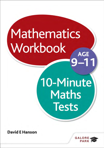 10-Minute Maths Tests on Calculations Age 9-11 by Galore_Park ...