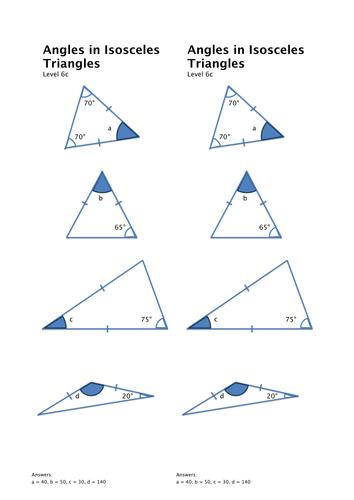 KS3 Angle Problems