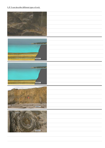 Igneous And Sedimentary Rock Worksheet By Petertaedwards