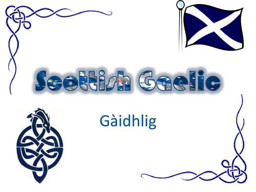 Introduction to Scottish Gaelic
