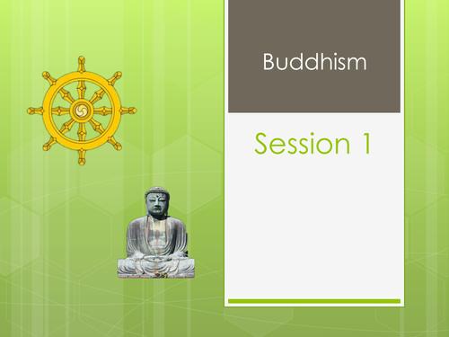Buddhism - The Eight Fold Path