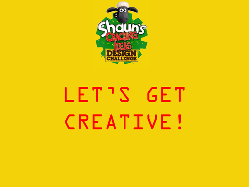 Shaun's Cracking Ideas Design Challenge