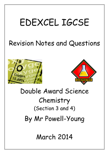 IGCSE Double Award Revision Booklets