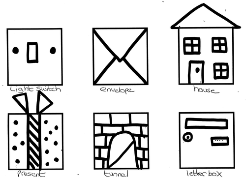 DRAWING GAME: How many things can you draw using a SQUARE?