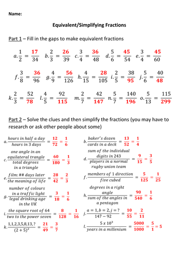 how to solve pronumeral fractions