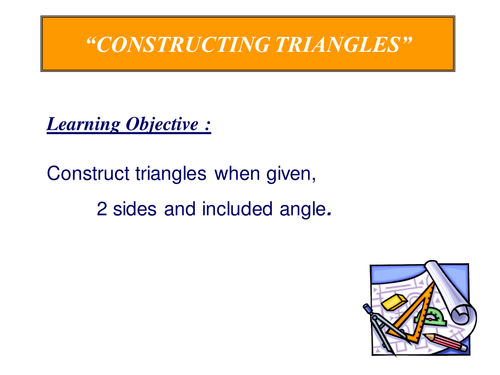 Triangle Construction 2.