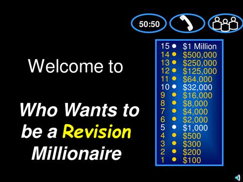 Equation reviewing Millionnaire