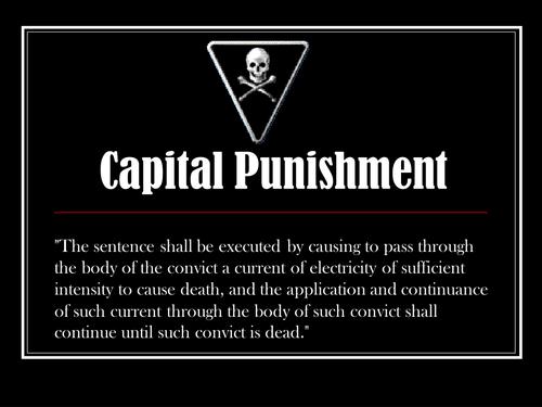 Capital Punishment: Persuasive Writing
