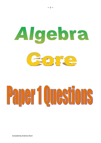 Test question review booklets