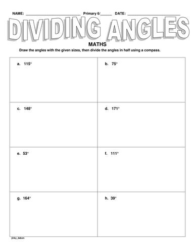 Dividing Angles-Constructions