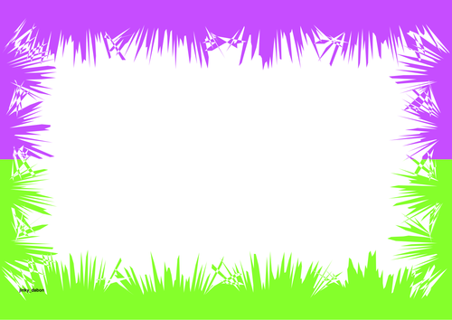 Grass Themed Printer Paper