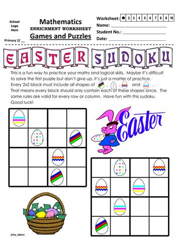 Easter Themed Sudoku