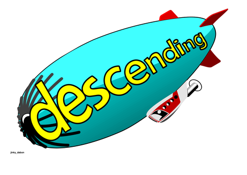 Ascending and Descending Poster