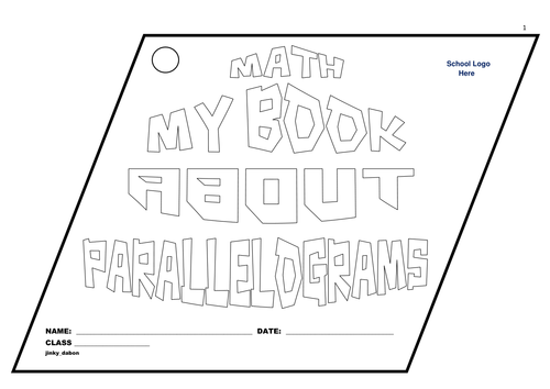 Grade 6 My Book About Parallelograms