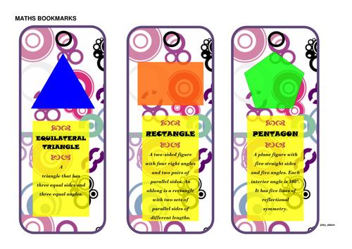 2 Dimensional Bookmarks