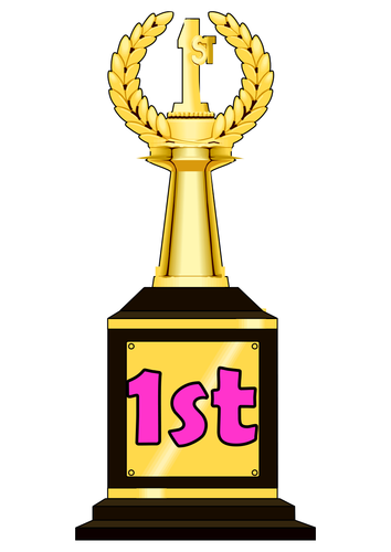 Trophy Themed Ordinal Numbers and in Words