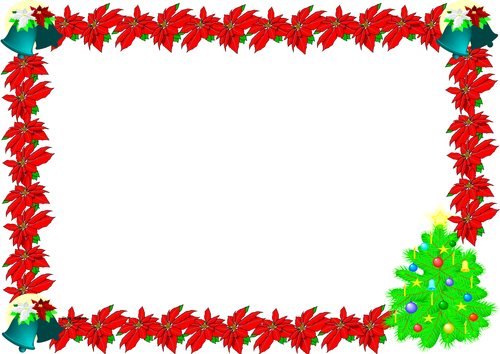 Christmas Themed Lined paper and Pageborders (1)