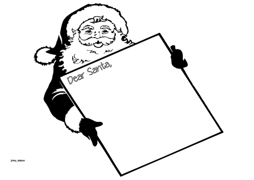 'Dear Santa' (My Wish List)