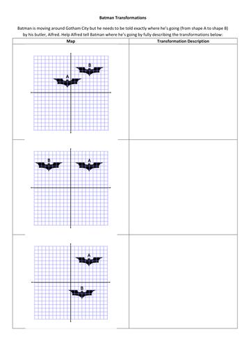 Batman Transformations