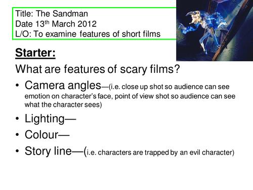 The Sandman short film