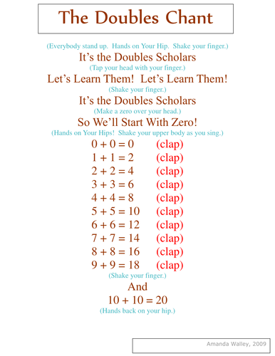 The Doubles Chant