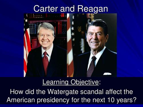 Carter and Reagan