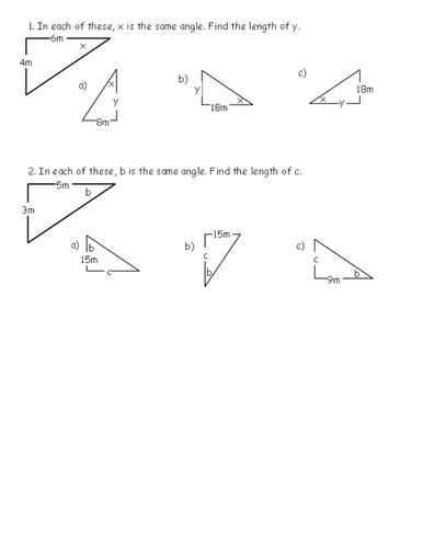Tangent Calculations