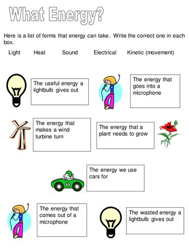 What energy?