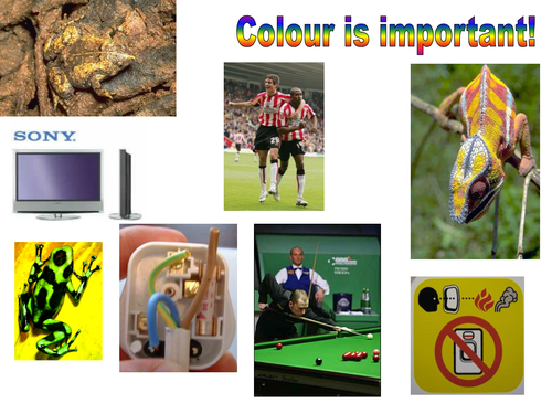 Color is important