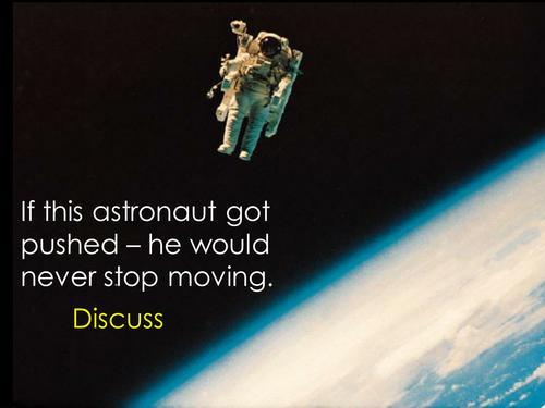 Astronaut starters