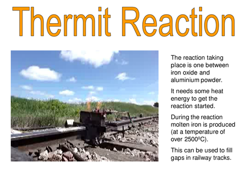 The thermit reaction
